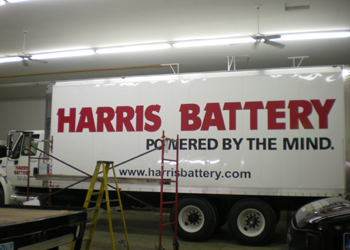 Fleet Graphics and Truck Lettering for Delivery Trucks