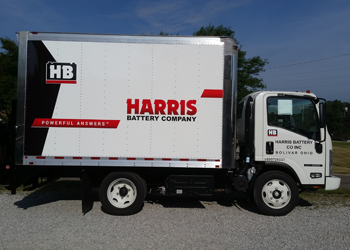 Fleet Graphics and Vinyl Wraps for box trucks