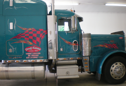 Fleet Graphics - Semi Tractor Lettering, Graphics, and Wraps