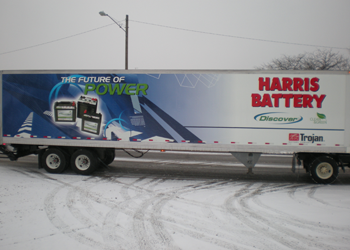 Fleet Graphics and Lettering for Semi Trucks and Traileres