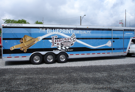 Fleet Graphics - trailer lettering and vinyl graphics